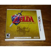 The Legend Of Zelda Ocarina Of Time 3d Nintendo 3ds New 3ds comprar usado  Osasco