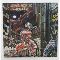 Lp Iron Maiden Somewhere In Time Disco De Vinil Wasted Years comprar usado  São Paulo