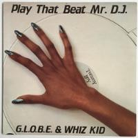 G.l.o.b.e. & Whiz Kid - Play That Beat Mr Dj 12'' Single Us, usado comprar usado  São Paulo