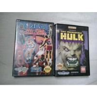 Usado, The Incredible Hulk   Nba All Star   Jogo Mega Drive Genesis comprar usado  Santo André