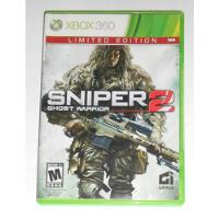 Sniper 2 Ghost Warrior Original Completo Xbox 360 Cr $15 comprar usado  Machado