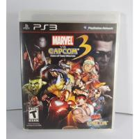 Jogo Marvel Vs Capcom 3 Fate Of Two Worlds - Ps3 comprar usado  Miradouro