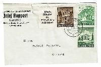 Germany 1941 Zusammendrucke Cover 5 & 6pf Pair and 3pf w/ Label - Z623 comprar usado  Enviando para Brazil