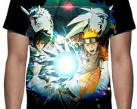 Camiseta Game Naruto Ultimate Ninja Storm 4 - Estampa Total comprar usado  Brasil