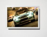 Quadro A3 need for speed most wanted comprar usado  Brasil