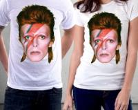 Camiseta David Bowie The Rise and Fall Ziggy Stardust Blusa comprar usado  Brasil
